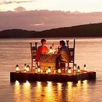 Un dîner romantique