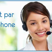 Directement par telephone