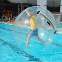 Une bulle pour marcher sur l'eau