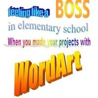 Faire des affiches ou des présentations grâce à WordArt