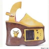 les compensées pikachu,Game Boy et piles incluses