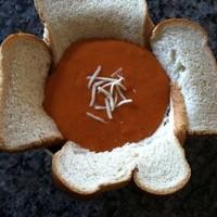 Le bol de pain de soupe