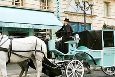 Les Joailleries Tiffany and Co. fête noël en grande pompe  mais surtout en calèche! Vous aimez?