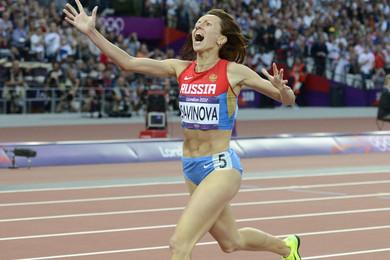 Des athlètes russes chargés à bloc