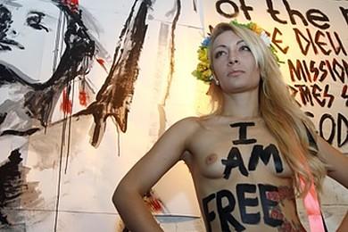 Les méthodes des Femen en procès. C'est le principe même de leurs actions qui est en procès.