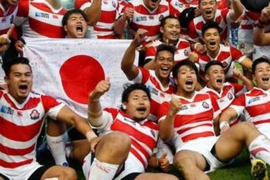 Lorsqu'on vous a dit que l'équipe japonaise de rugby était très prometteuse, qu'en avez-vous pensé?