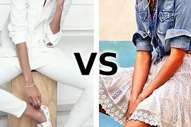 Vous vous sentez plus à votre goût en jupe ou en pantalon?