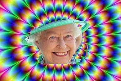 Des champignons hallucinogènes poussent dans les jardins de Buckingham Palace. Qu'en pensez-vous?
