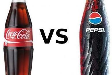 Entre les deux marques de soda Coca-Cola et Pepsi Cola, quel est votre favori?
