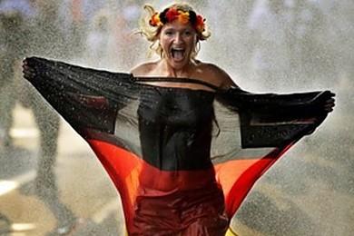 Quelle a été votre réaction lorsque l'Allemagne a gagné la coupe du monde?