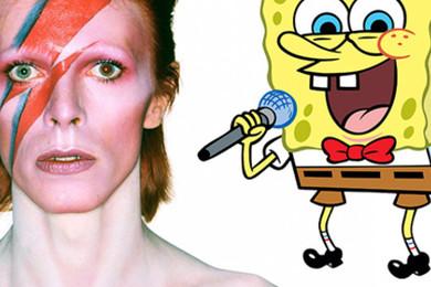 David Bowie va diriger la comédie musicale de Bob l'Eponge! Incroyable! Qu'en pensez-vous de ça?