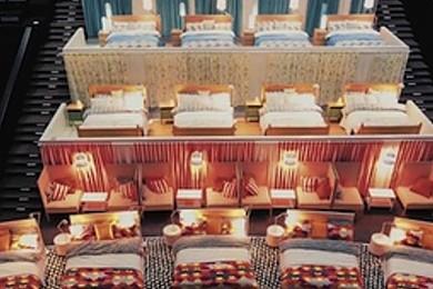 Des lits Ikea dans une salle de cinéma. Quel est votre avis sur la question?