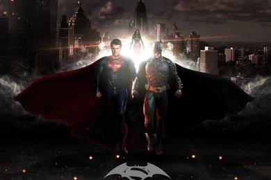 Batman et Superman ensemble à l'affiche avec leur gros bolide