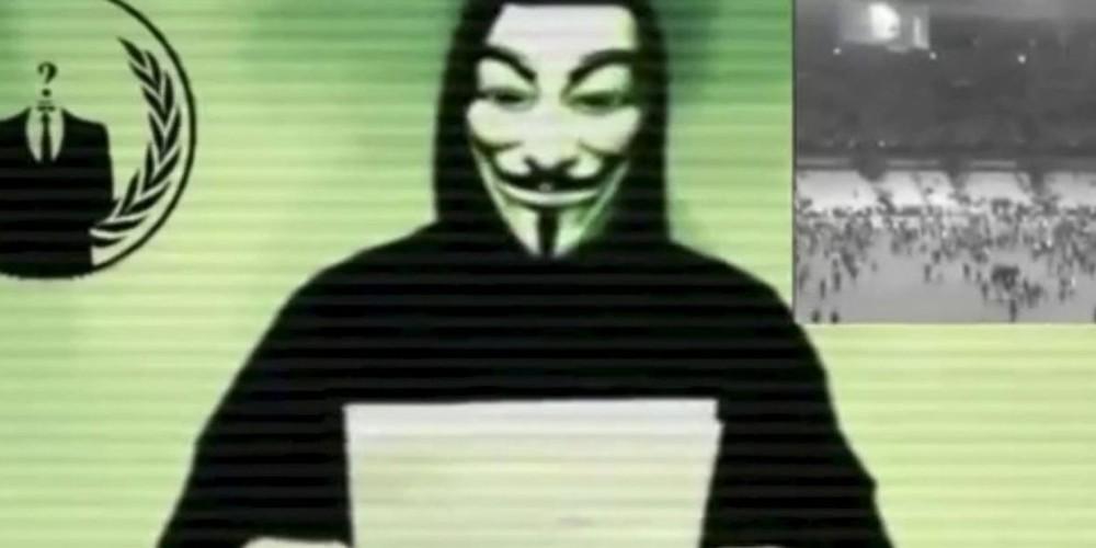 Les Anonymous sortent les (cybers-) armes