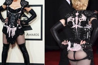 Avez vous été choqué par la tenue de Madonna aux Grammy Awards?