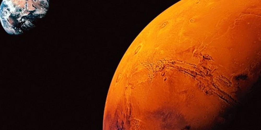La côte d'Azur cherche de la vie sur Mars