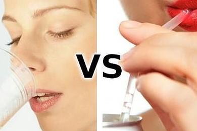 Lorsque vous avez soif, vous préférez boire de l'eau ou du soda?