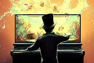 Que pensez vous de cet incroyable tableau du peintre (digital) Cyril  Rolando?