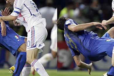 Tout le monde se souvient du coup de tête qu'a donné Zidane à Materazzi à l'époque,
