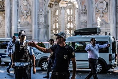 Explosion à la mosquée bleue d'Istanbul