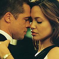 Angelina Jolie e Brad Pitt (Mr. & Mrs. Smith, 2005)