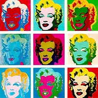Marilyn Monroe di Andy Warhol - 1962