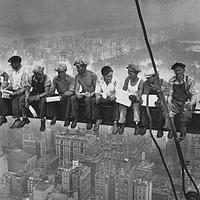 Pausa lavoro Rockefeller Center - 19 settembre 1932