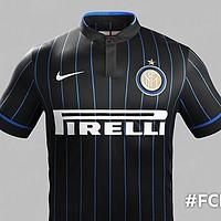 La maglia home dell'Inter 2014/2015