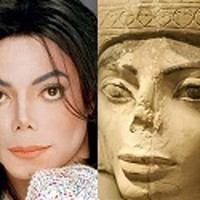 Michael Jackson-Statua egizia