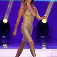 Il vestito attillato di Fernanda Lima