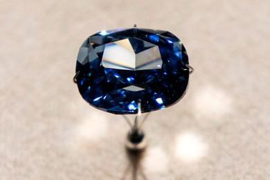 Il Blue moon diamond è ufficialmente il diamante più costoso del mondo