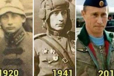 Pensi che Putin possa viaggiare nel tempo o essere immortale?