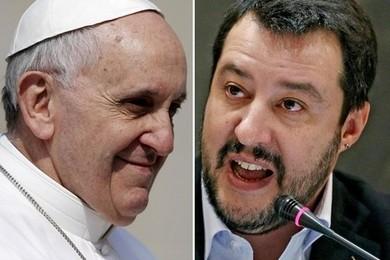 Migranti, chi ha ragione il Papa o Salvini?