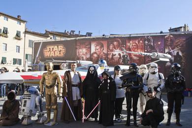 Al Lucca Comics 2015 Star Wars la fa da padrone