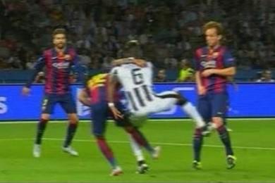 Juve-Barça: c'era il rigore su Pogba?