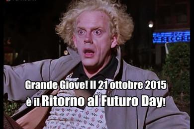 Ritorno al Futuro Day, 21 ottobre 2015!