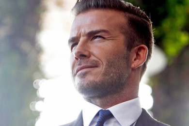 "David Beckham nominato ""uomo più sexy del mondo"""