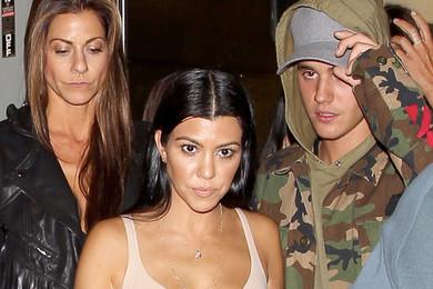 E' amore tra Justin Bieber e Kourtney Kardashian?