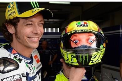 MotoGp: Rossi con un 'tweet' afferma, 'a Valencia ci sarò'!