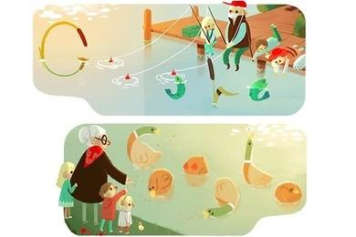 Festa dei nonni, Google li ricorda con due doodle