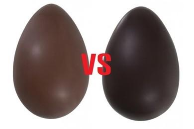 Pasqua 2015, cioccolato fondente o cioccolato al latte?