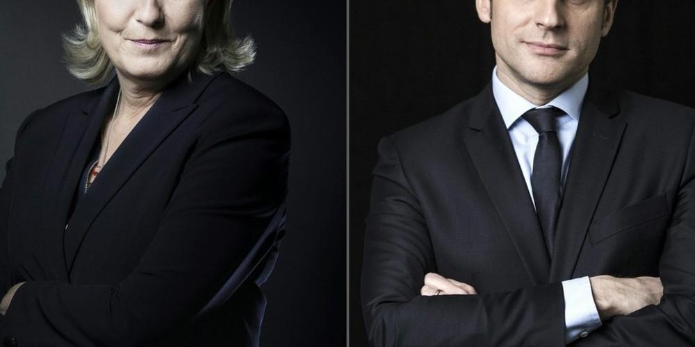 Le Pen e Macron sono pronti ad affrontare le elezioni in Francia