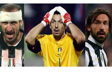 Chiellini e Pirlo nella lista del Pallone d'oro: escluso Buffon!