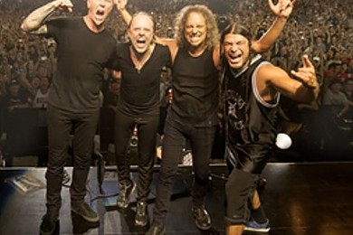 Metallica in concerto in Italia. Unica data a Roma. Che effetto ti fa?