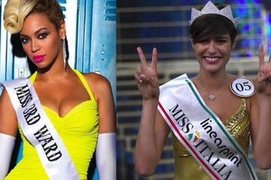 Miss Italia 2015: Beyoncé come Alice Sabatini