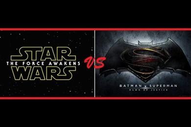 Quale film aspetti con più trepidazione, Star Wars VII o Batman v Superman?