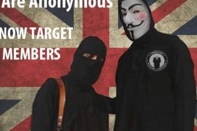 """Anonymous shock: """"Sventato attacco terroristico in Italia"""""""