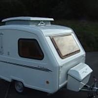 Micro caravan: larger than a teardrop, smaller than a tourer