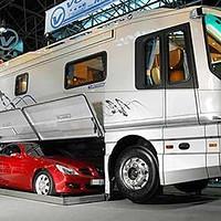 A luxury caravan: no point slumming it