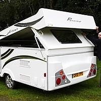 A folding caravan: yes, it's possible